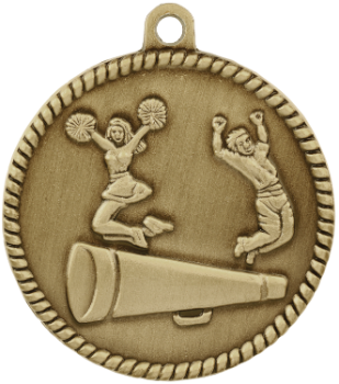 Cheer High Relief Medal