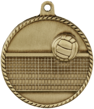 Volleyvall High Relief Medal