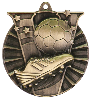 Soccer Victory Medal