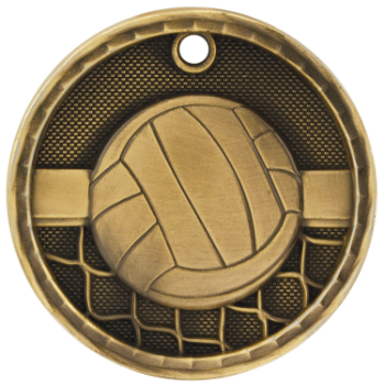 Volleyball 3D Medal