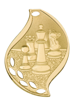 Chess Flame Medal