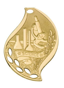 Science Flame Medal