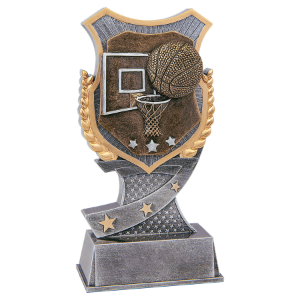 Basketball 6 Shield Award