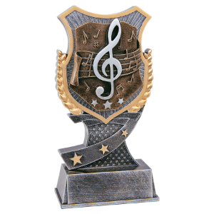 Music 6 Shield Award