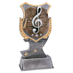 Music 7 Shield Award